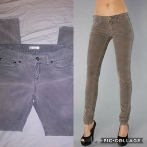Free People Skinny Cords Size 30